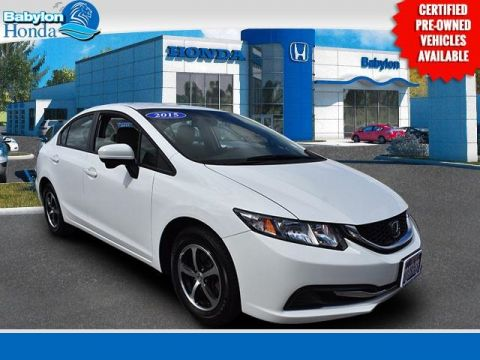 Certified Pre-Owned 2015 Honda Civic SE FWD 4D Sedan