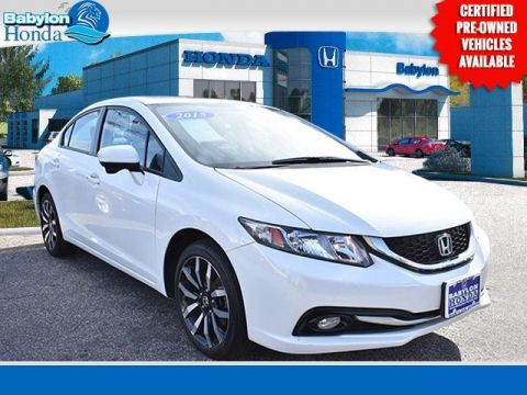 Certified Pre-Owned 2015 Honda Civic EX-L FWD 4D Sedan