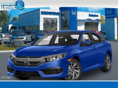 New 2016 Honda Civic EX FWD 4D Sedan