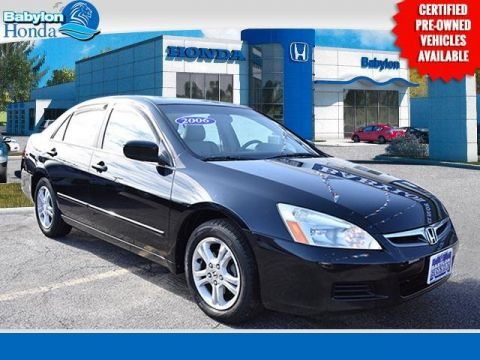 Pre-Owned 2006 Honda Accord EX FWD 4D Sedan
