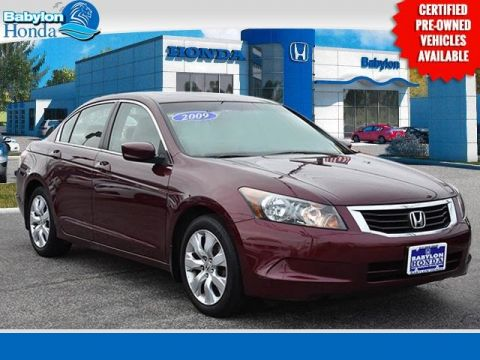 Pre-Owned 2009 Honda Accord EX-L FWD 4D Sedan