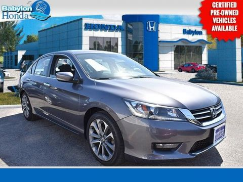 Certified Pre-Owned 2015 Honda Accord Sport FWD 4D Sedan