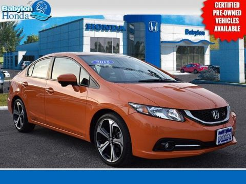 Certified Pre-Owned 2015 Honda Civic Si FWD 4D Sedan