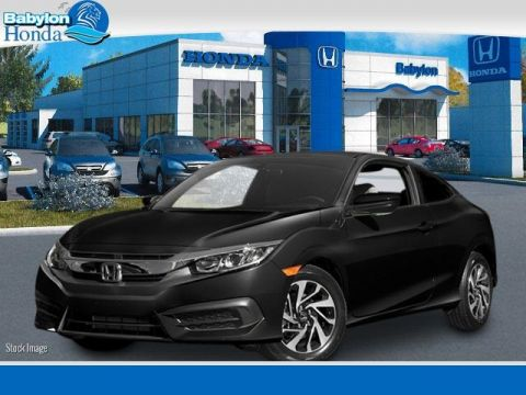 New 2016 Honda Civic LX-P FWD 2D Coupe