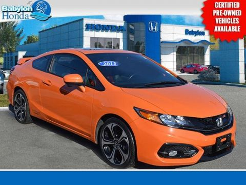 Certified Pre-Owned 2015 Honda Civic Si FWD 2D Coupe