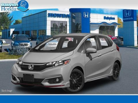 New 2018 Honda Fit Sport FWD 4D Hatchback
