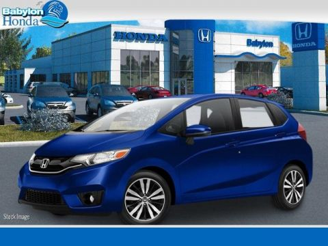 New 2017 Honda Fit EX-L With Navigation