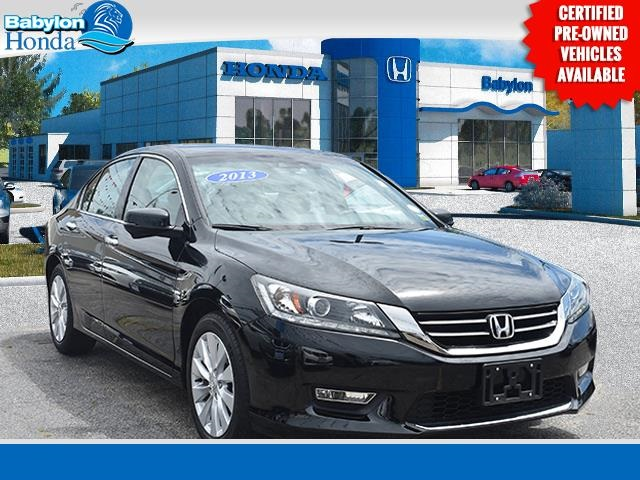 Certified Pre Owned 2013 Honda Accord EX L