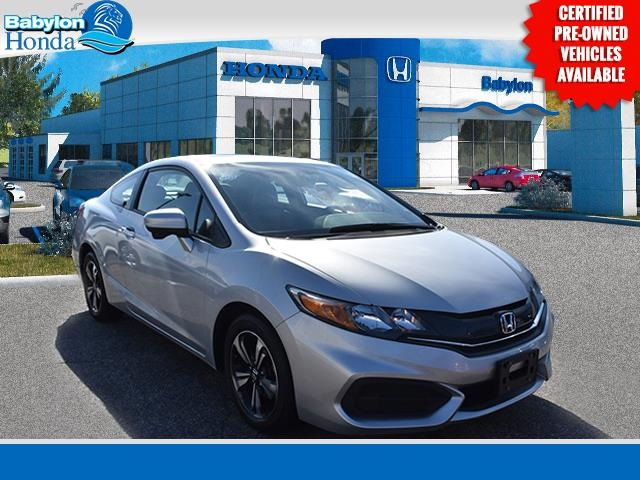 Certified Pre Owned 2015 Honda Civic Ex 2d Coupe In West Babylon