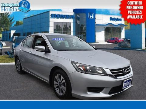 Certified Pre-Owned 2014 Honda Accord LX FWD 4D Sedan