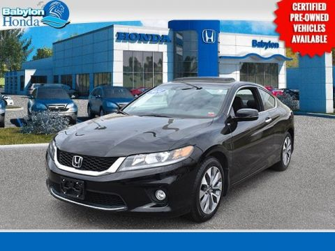 Certified Pre-Owned 2014 Honda Accord EX-L FWD 2D Coupe