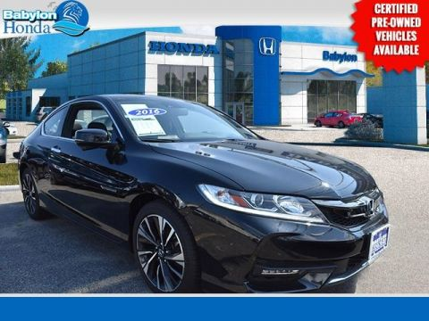 Pre-Owned 2016 Honda Accord EX-L FWD 2D Coupe