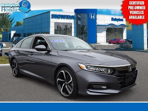 Certified Pre-Owned 2018 Honda Accord Sport FWD 4D Sedan