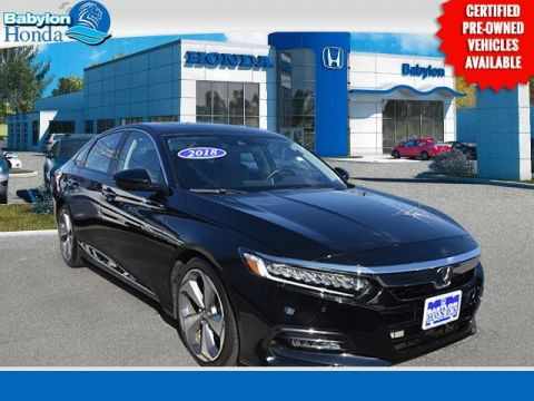 Certified Pre-Owned 2018 Honda Accord Touring FWD 4D Sedan