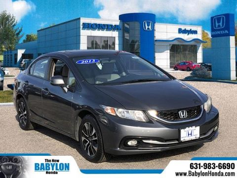 Pre-Owned 2013 Honda Civic EX-L