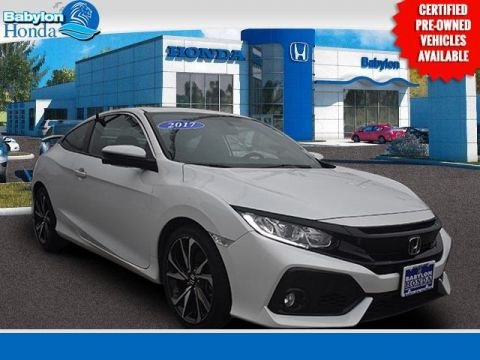 Certified Pre-Owned 2017 Honda Civic Si FWD 2D Coupe