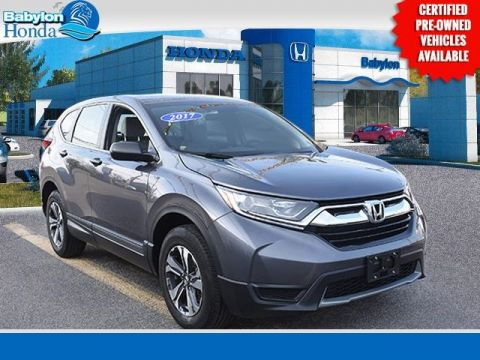 Certified Pre-Owned 2017 Honda CR-V LX AWD 4D Sport Utility