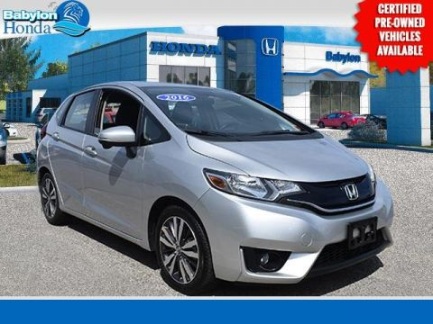 Certified Pre-Owned 2016 Honda Fit EX-L FWD 4D Hatchback