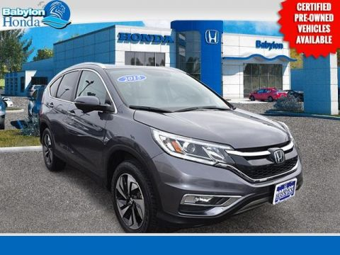 Certified Pre-Owned 2015 Honda CR-V Touring AWD 4D Sport Utility