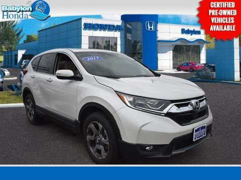 Certified Pre-Owned 2017 Honda CR-V EX AWD 4D Sport Utility
